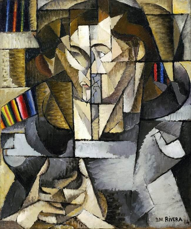 Jacques Lipchitz, 1914 by Diego Rivera