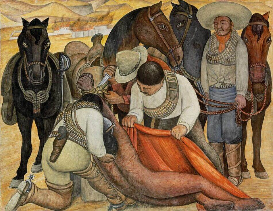 Liberation of the Peon, 1923 by Diego Rivera