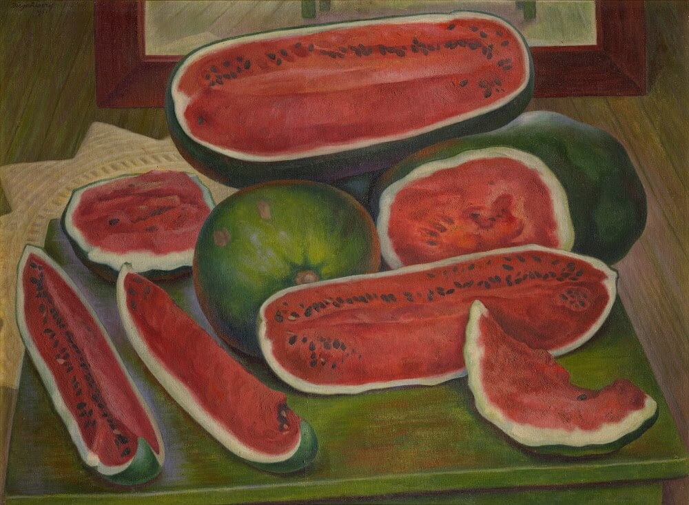 The Watermelons, 1957 by Diego Rivera